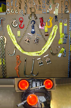 Towing and Recovery Accessories :: Winch cables and Magnetic Tow Lights